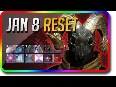 Destiny 2 - Niobe Labs Reset! (January 8 Black Armory Weekly Reset, Powerful Gear) thumbnail