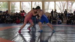 Спорт. Вольная борьба. Первенство Кыргызстана среди кадетов-2018. Часть 11
