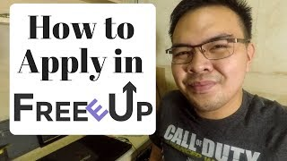 How to Register in FreeeUp 2018 Part / Full time Online jobs - tagalog