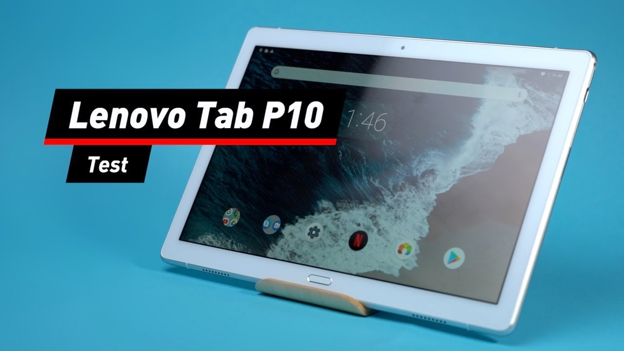 Lenovo Tab P10: Einsteiger-Tablet im Test