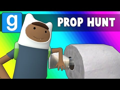 Thumbnail: Gmod Prop Hunt Funny Moments - Halloween Toilet Paper!