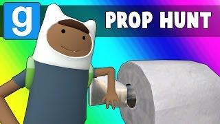 Gmod Prop Hunt Funny Moments - Halloween Toilet Paper!