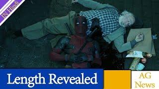 Deadpool 2 New Trailer Length Revealed AG Media News