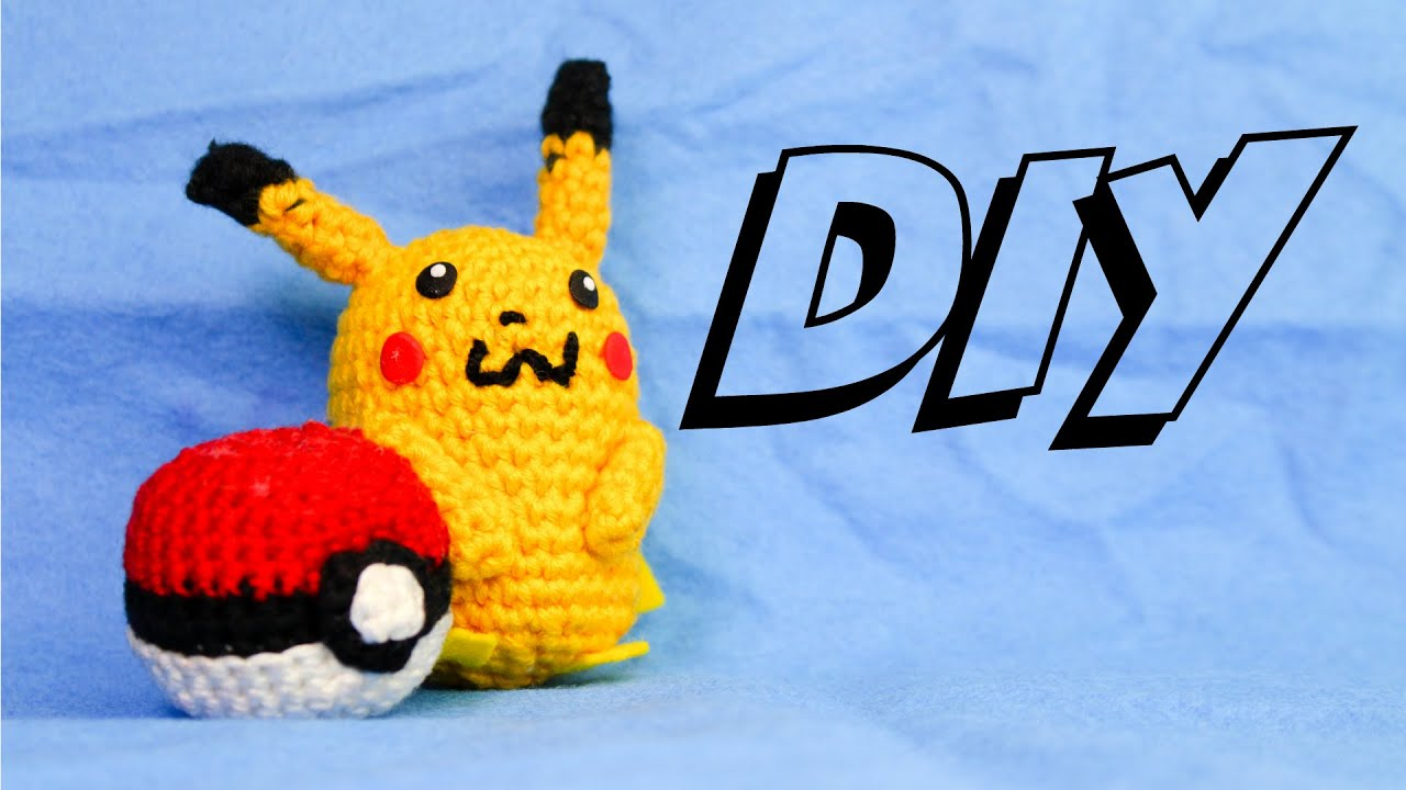 Pikachu Häkelanleitung Amigurumi Einfach Diy Youtube