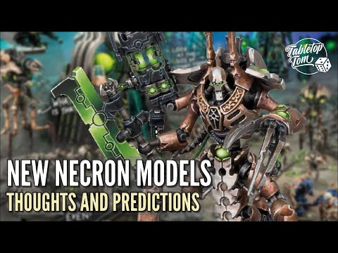 New Necron Models | Thoughts And Predictions