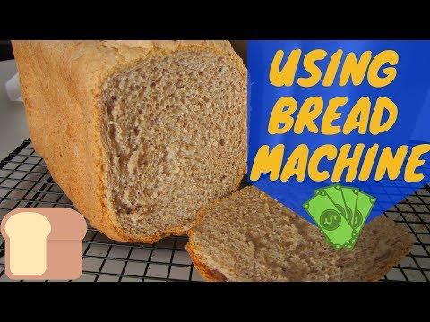 Using Bread Machine To Make Whole Wheat Bread!