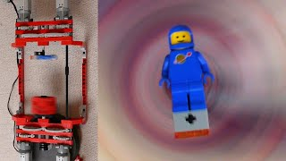 Spinning Mini-Camera and Lego Benny