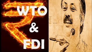 FDI & WTO Will Destroy All Service Sectors Exposed By Rajiv Dixit