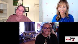 Virtual VO: Voiceover Agent Talks with Portia Scott & Pat Brady
