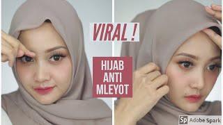 Tips Jilbab Anti Mleyot Tegak Paripurna | Linda Kayhz