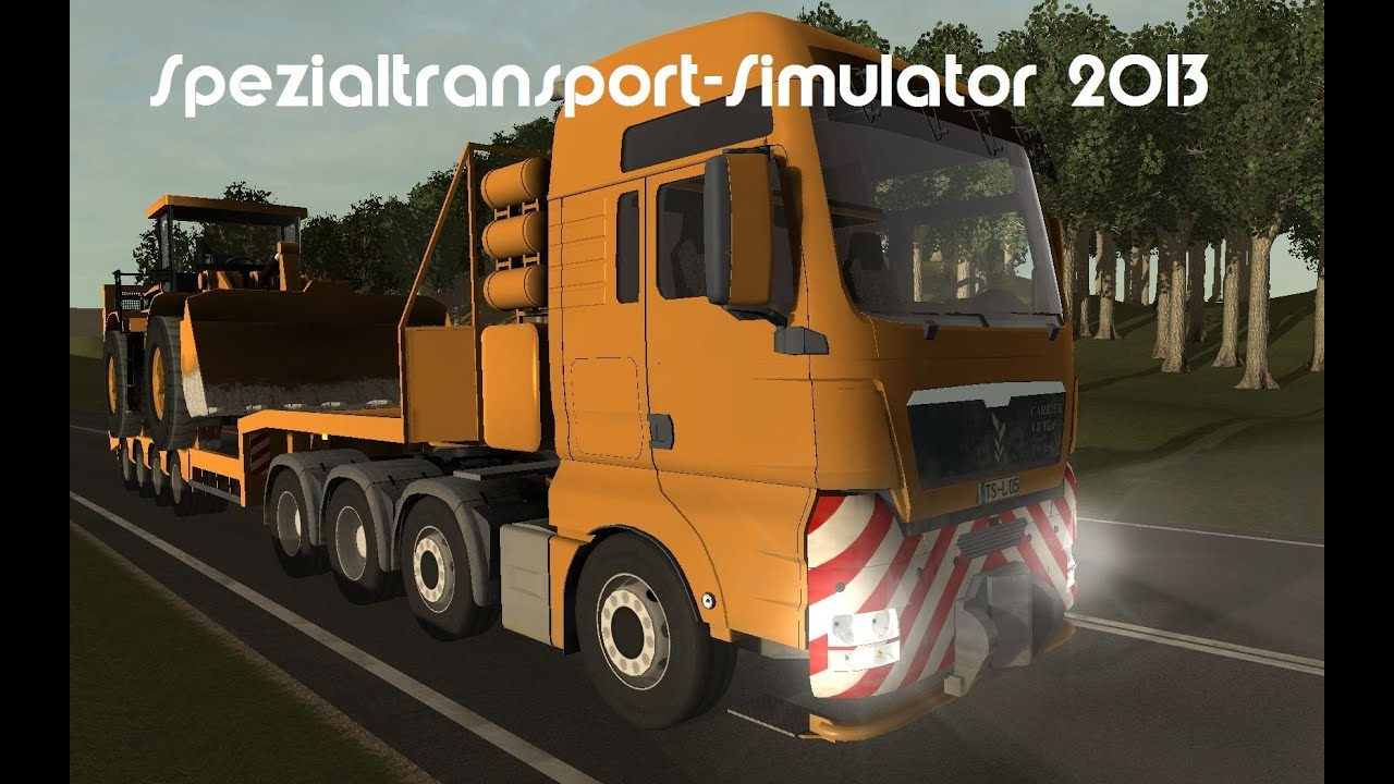 schwertransport simulator 2013