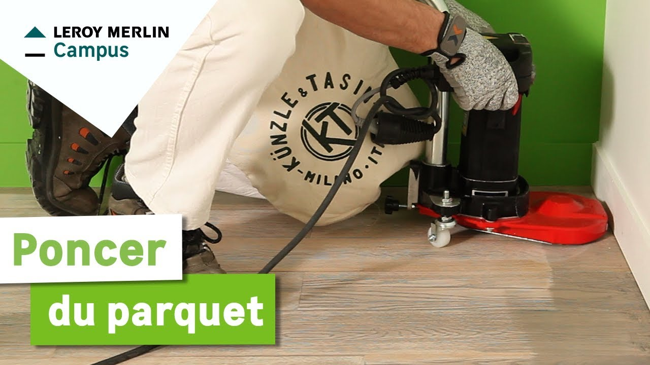 Comment Poncer Du Parquet ? Leroy Merlin   YouTube