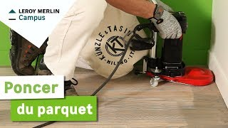 Comment Poncer Du Parquet Leroy Merlin Youtube
