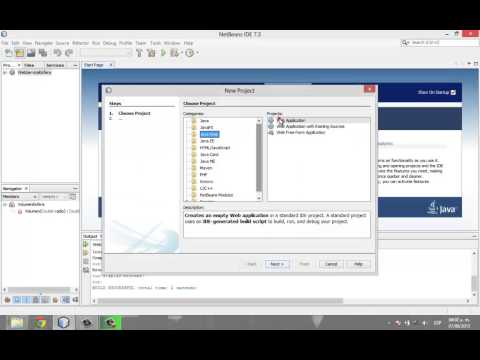how to create a website using java netbeans pdf