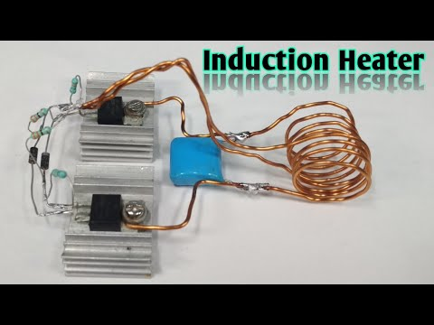 Mosfet Induction Heater Youtube