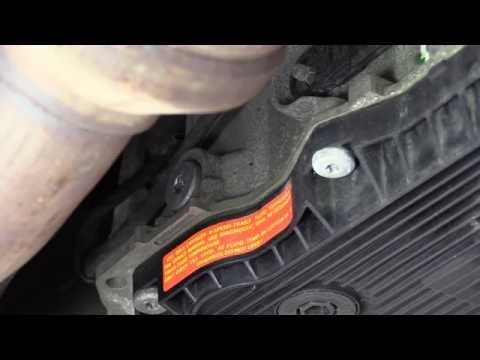 Фото к видео: ZF 8HP Transmission Fluid Level Check - No Dipstick