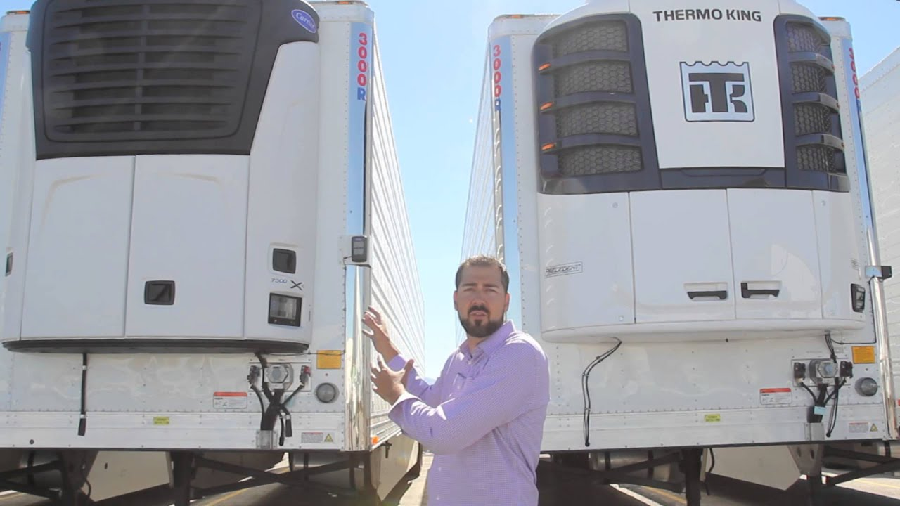 Trucks R Us >> New Carrier and Thermo King Units - YouTube