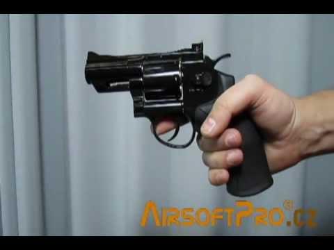 Win Gun Revolver CO2 2,5 Inch Black