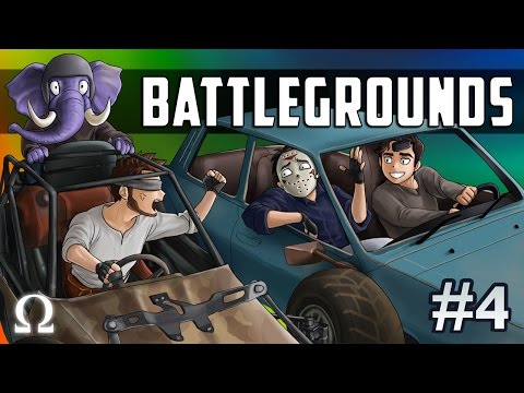 OFFROAD RACING, SO MANY EXPLOSIONS! | BATTLEGROUNDS #4 - PLAYERUNKNOWN'S Ft. Delirious, Mark, Satt