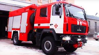 Пожарная Машина | Обзор Настоящей Спасательной Техники | Видео Для Детей | Tiki Taki Boys