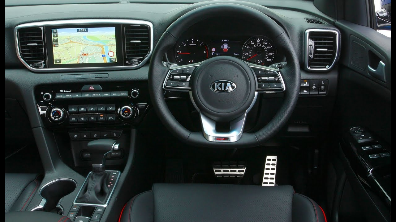 2019 kia sportage gt line s interior youtube. Black Bedroom Furniture Sets. Home Design Ideas