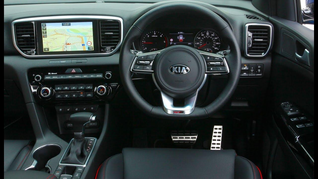 2018 Kia Sportage >> 2019 Kia Sportage GT Line S INTERIOR - YouTube