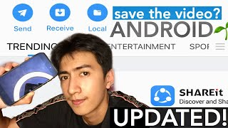 HOW TO SAVE THE VIDEOS SHARED FROM SHARE IT TO GALLERY IF ANDROID USER (UPDATED) screenshot 1