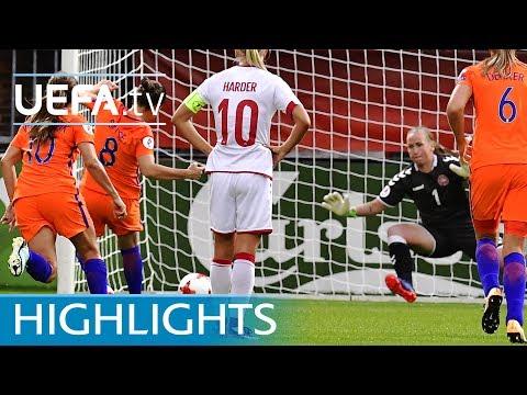 Highlights: Netherlands v Denmark
