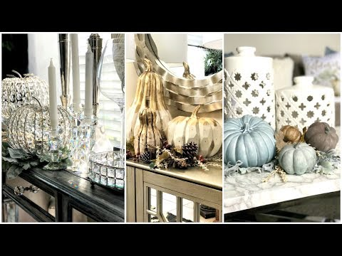 Fall Home Decor | Decorating With Pumpkins