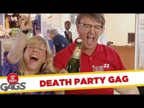 Death Party Prank - Throwback Thursday