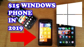 $15 WINDOWS PHONE IN 2019 - HOW DOES CHEAP WINDOWS PHONE PERFORM IN 2019