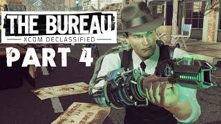 The Bureau: XCOM Declassified Gameplay [HD] #4 DEUTSCH - Die Flucht! Chefs retten und dann abhauen!
