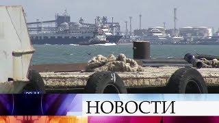 Капитана захваченного российского судна «Норд» положили в больницу на обследование.