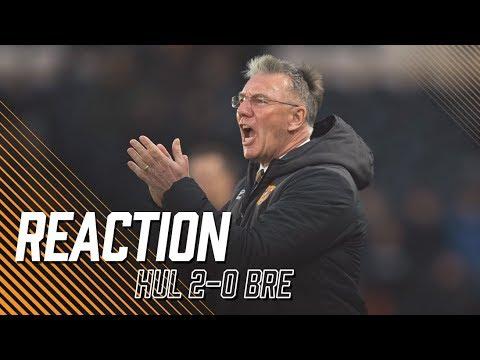 Hull City 2-0 Brentford | Reaction