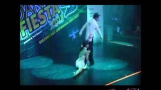 Michael Badong- Crystal Phuong: Dancing Rumba at Singapore Dance Fiesta (Semi-final) Thumbnail