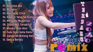 Dj Tik Tok Terbaru 2020   DJ REMIX FULL BASS !!! HARUSNYA AKU   MUNGKIN   Dj Terbaru 2020 Viral Enak