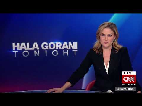 Hala Gorani Tonight on CNN International - News Open