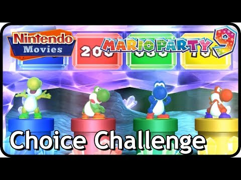 Mario Party 9 (Yoshi Party) - Choice Challenge (Multiplayer, Free-for-All)