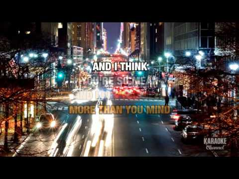 If You're Gone in the style of Matchbox Twenty   Karaoke with Lyrics