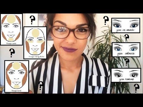 morphovisage le maquillage adapt son visage carr rond petits yeux paupi res tombantes. Black Bedroom Furniture Sets. Home Design Ideas