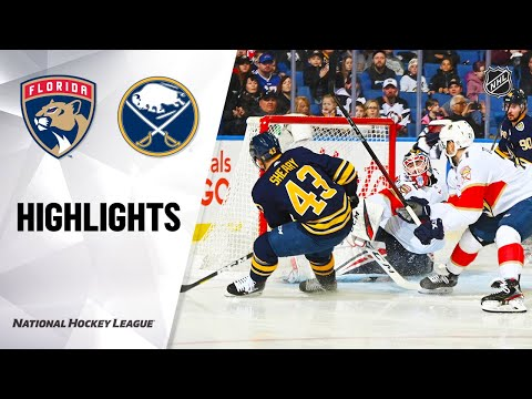 NHL Highlights   Panthers @ Sabres 01/04/20