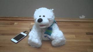 Kuchi-Paku Polar Bear Animal Speaker
