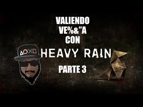Jugando por primera vez Heavy Rain parte 3