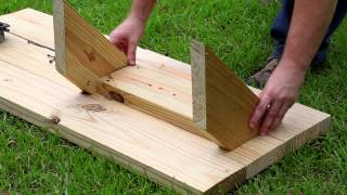 How To Build A Raised Bed With Benches