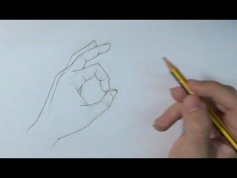 imagenes de manos en diferentes posiciones para dibujar