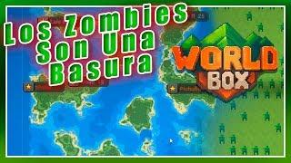 🙄 LOS ZOMBIES SON UNA BASURA / Guerra De Suscriptores #2 / ( WorldBox ) GAMEPLAY EN ESPAÑOL 2019