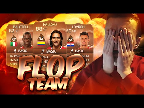 FIFA 15 - THE BIGGEST FOOTBALL FLOP TEAM OF 2014/2015?