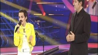 Angy imita a Freddie Mercury en la semifinal de