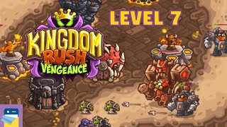 Kingdom Rush Vengeance: Level 7 BOLGUR'S THRONE 3-Star Walkthrough & iOS Gameplay (by Ironhide)