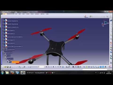 Tugas Besar Catia - Drone (DMU Fitting & Pembuatan Part)1